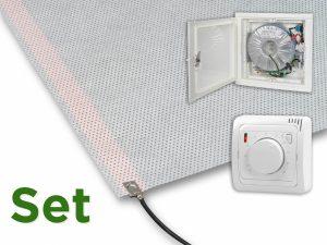 Anemox carbon heizvlies wandheizung oder schimmel sanierung - Wandheizung elektrisch unterputz ...