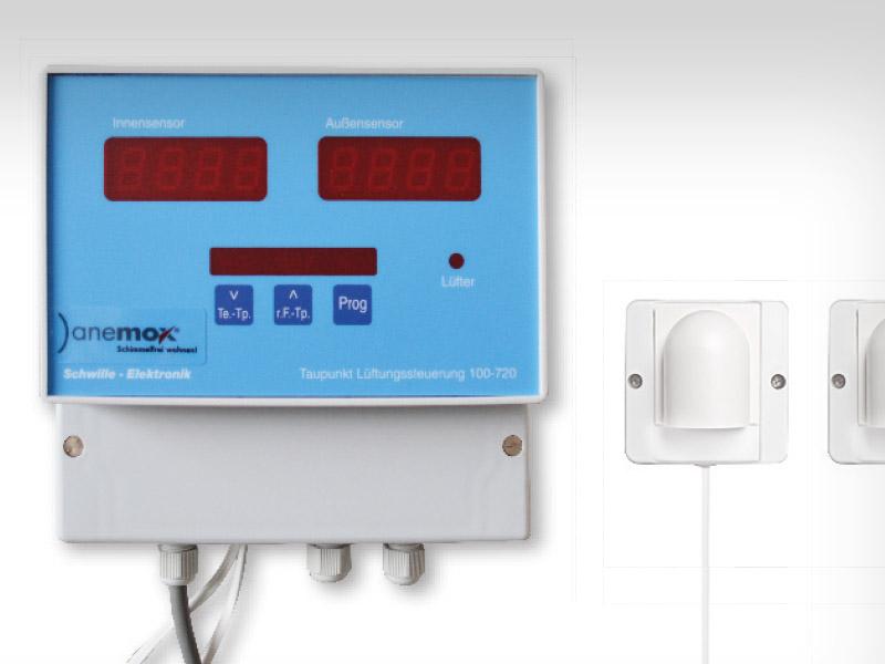 anemox® Taupunktsteuerung – Kellerentlüftungssteuerung